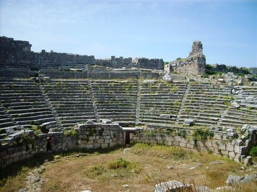 Xanthos, detail of the theater